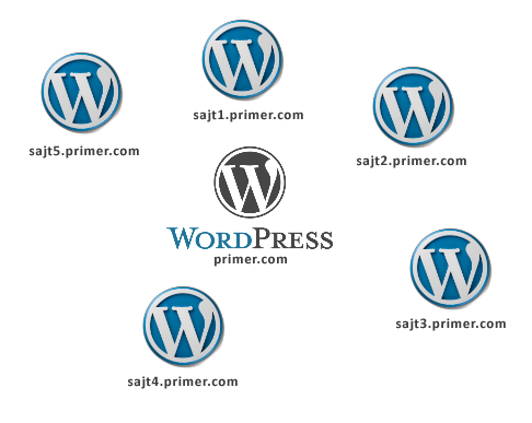 wordpress-network